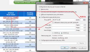 Esempio IP e Porta